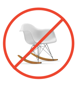 No Eames Rockers, Please!