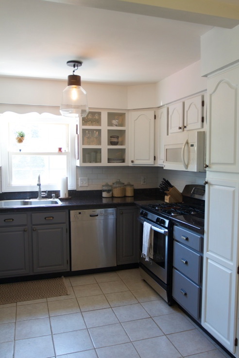 Before & After: Our Kitchen // Annabode.com